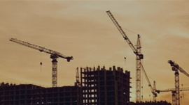 construction-crane-sunset